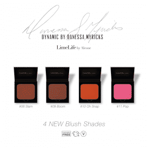 This limited edition set from LimeLife by Alcone's Dynamic Collection by Danessa Myricks is now available to order! Use these blushes sparingly for lighter skin tones or use as an intense eyeshadow or lip color. Get them before they sell out! Must order exclusively through a Beauty Guide for the first week of its launch. To receive a royal invitation to this amazing launch and other special promotions only available from me, head over to my site and sign up! Thanks, friends! //Jean Lucas brazenfaithllc.com #limelifebyalcone #slam #boom #ohsnap #pop #danessablushes #brazenfaithllc #limitededition