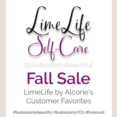 LimeLife by Alcone Self-Care Fall Sale 2020