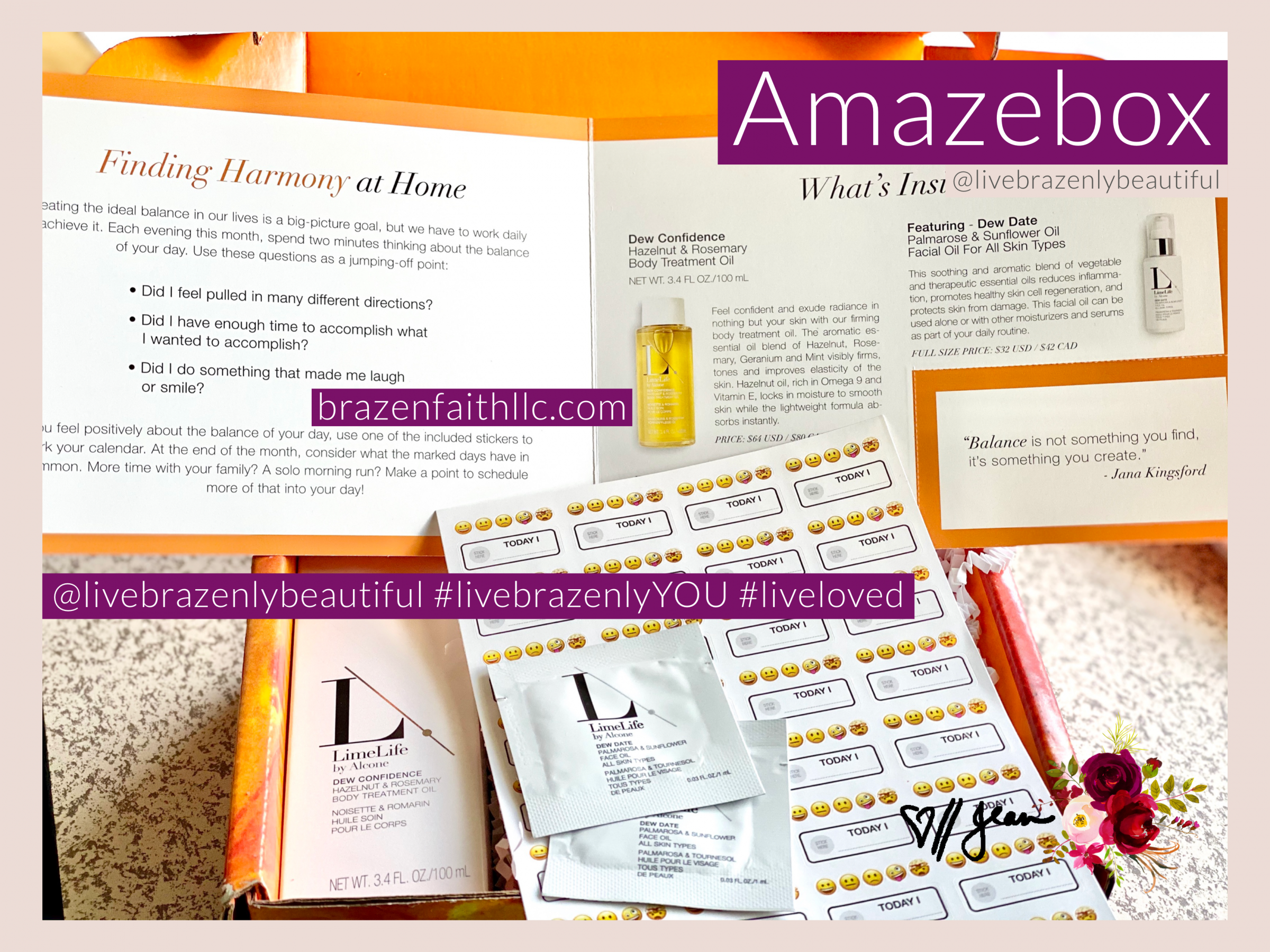 LimeLife by Alcone Subscription- AmazeBox